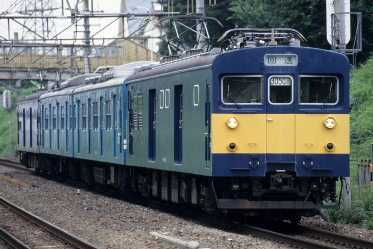山手電車区143系(クモヤ143)